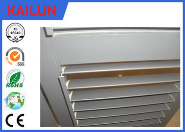 China Fenster anodisierte Aluminiumrahmen-Profile mit Material 6005/6063/6061Alloy usine
