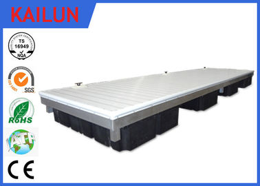 China Verdrängung anodisierte Aluminiumdecking-Materialien, wasserdichte Aluminiumpool-Plattform distributeur