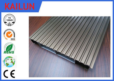 China Verriegelung eloxiert wasserdicht Aluminium Decking Bretter Materialien 6000 Reihe Grad distributeur